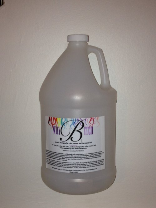 Protein shampoo for color treated and damaged hair 1 gallon
